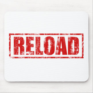 ¡Recarga! - Arma del lanzamiento del juego del vid Tapete De Ratón