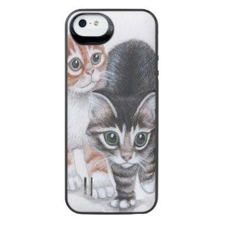 recarga de la batería de los gatitos para el funda power gallery™ para iPhone 5 de uncommon