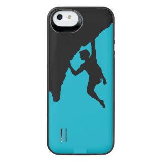 recarga de la batería del escalador de roca para funda power gallery™ para iPhone 5 de uncommon