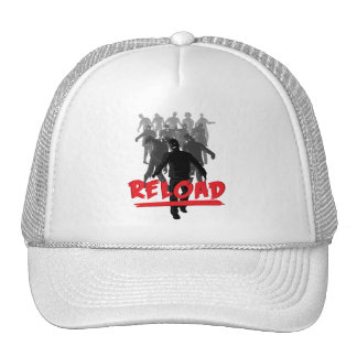 Recarga de la horda del zombi gorras