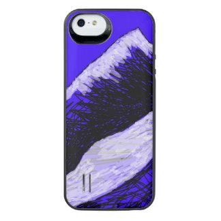recarga nevosa de la batería de la montaña para el funda power gallery™ para iPhone 5 de uncommon
