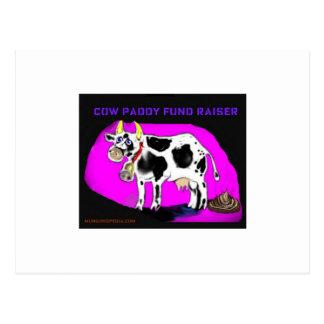 recaudador de fondos del arroz de la vaca postales