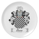 Recco Family Crest Dinner Plate