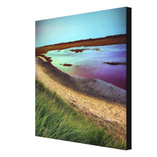 Receding Tide part of the P-Town Cape Collection Canvas Print