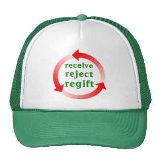 Receive Reject Regift Hats