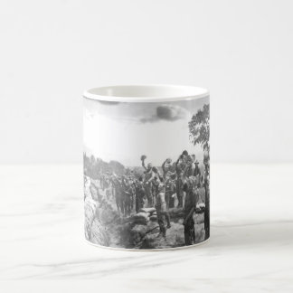 Receiving the news of the surrender_War Image Coffee Mug