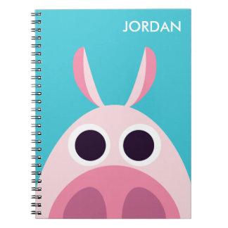 Receloso el cerdo notebook