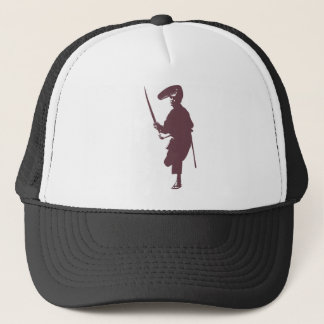 Recent samurai trucker hat