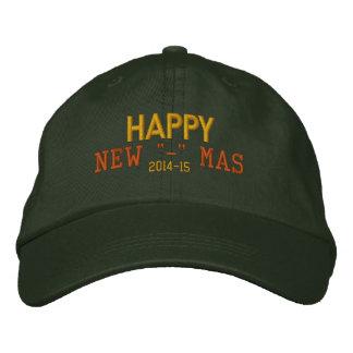 "Recentered Happy New ""-"" Mas Hat"