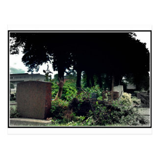 Recently on the cemetery postcard