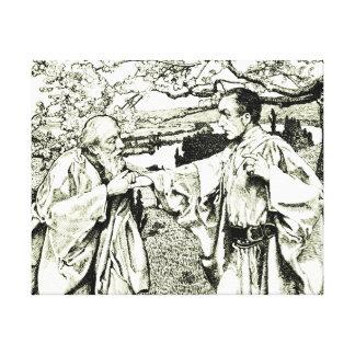 Recepción 1910 lona envuelta para galerias