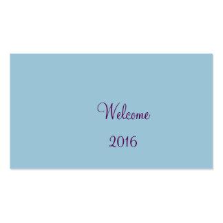 Recepción 2016 tarjetas de visita