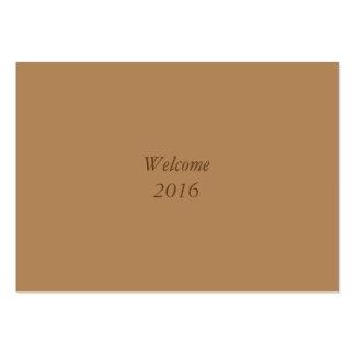 Recepción 2016 tarjetas de visita grandes