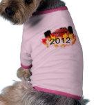 Recepción a 2012 camiseta de perrito