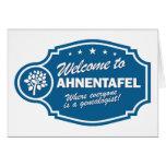 Recepción a Ahnentafel Tarjeton