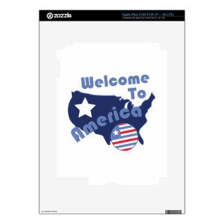 Recepción a América iPad 3 Skins