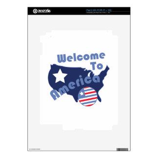 Recepción a América iPad 2 Skins