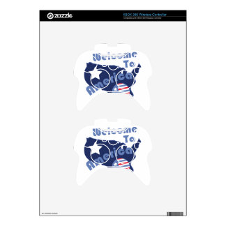 Recepción a América Mando Xbox 360 Calcomanía