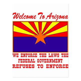 Recepción a Arizona hacemos cumplir las leyes Postal