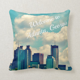 Recepción a Atlanta, Georgia Cojín