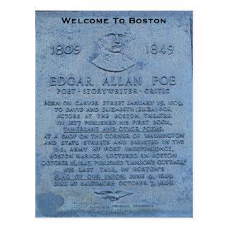 Recepción a Boston Postales