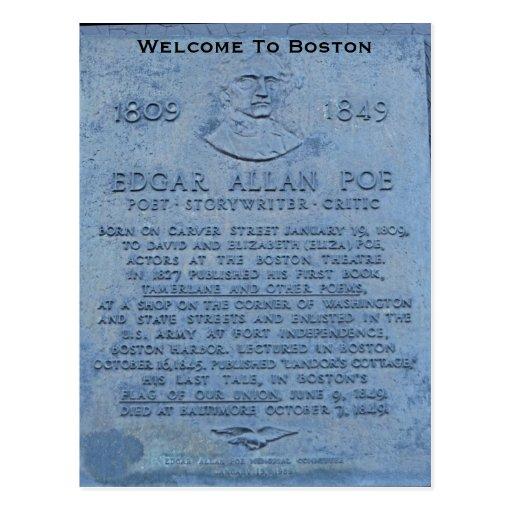 Recepción a Boston Postal
