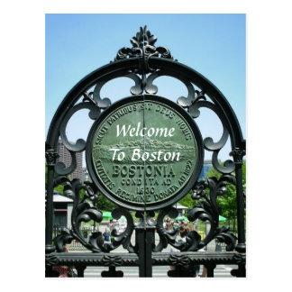 Recepción a Boston Tarjetas Postales