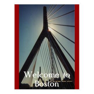 Recepción a Boston Tarjeta Postal