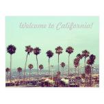 ¡Recepción a California! Postal