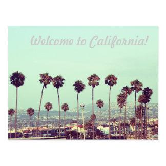 ¡Recepción a California! Tarjeta Postal