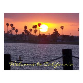 Recepción a California Tarjetas Postales