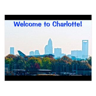 ¡Recepción a Charlotte! Postales