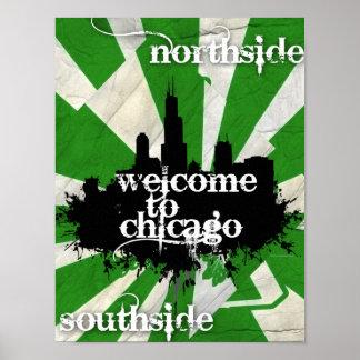 Recepción a Chicago Posters
