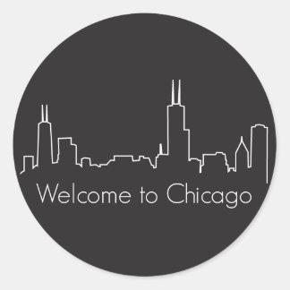 Recepción a Chicago Etiqueta