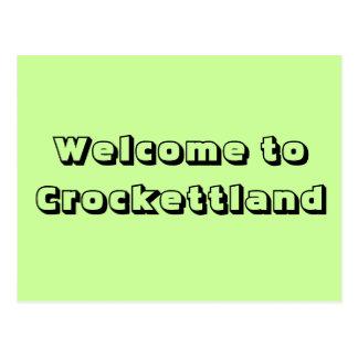 Recepción a Crockettland Tarjetas Postales