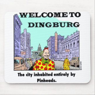 Recepción a Dingburg #2 Tapete De Ratones