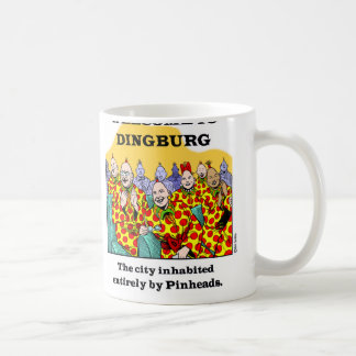 Recepción a Dingburg #3 Taza De Café