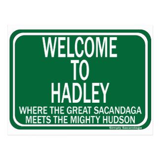 Recepción a Hadley Postal