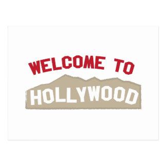 Recepción a Hollywood Postales