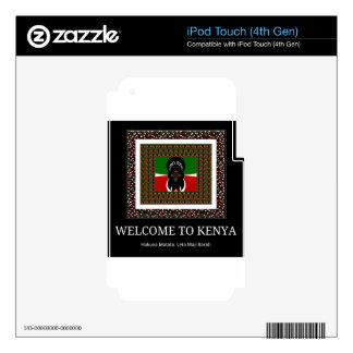 Recepción a Kenia Hakuna Matata Calcomanía Para iPod Touch 4G