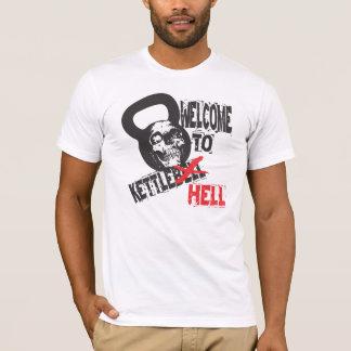 Recepción a la camiseta del infierno de Kettlebell