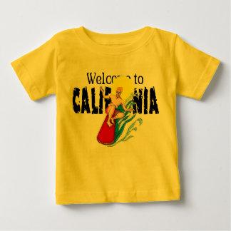 Recepción a la camiseta infantil de la caloría