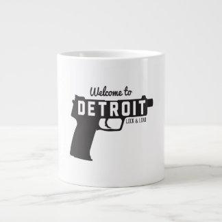 Recepción a la cerradura y a la carga de Detroit Taza Grande