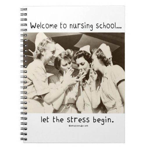 Recepción a la escuela de enfermería - deje la ten cuadernos