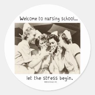 Recepción a la escuela de enfermería - deje la ten etiqueta