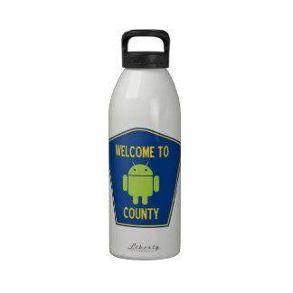 Recepción a la muestra androide del condado (de Bu Botellas De Agua Reutilizables