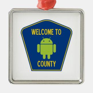 Recepción a la muestra androide del condado (de Bu Ornaments Para Arbol De Navidad