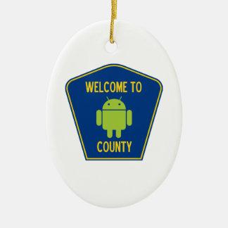 Recepción a la muestra androide del condado (de Bu Ornamento De Reyes Magos