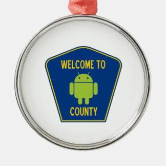 Recepción a la muestra androide del condado (de Bu Ornamentos De Reyes