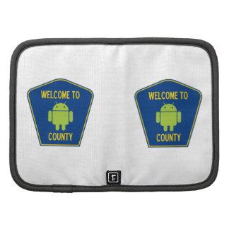 Recepción a la muestra androide del condado de Bu Planificadores